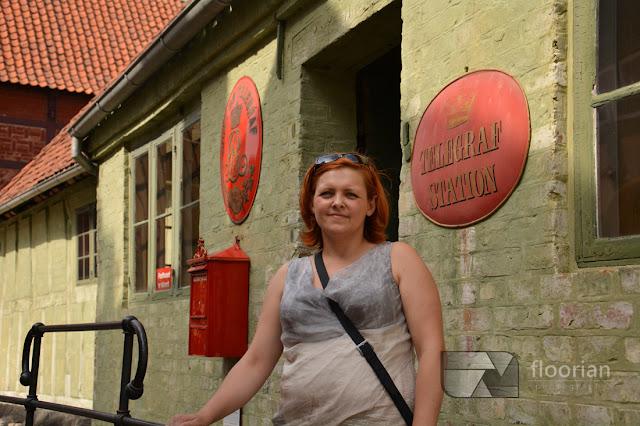 Blogerzy podróżniczy w Den Gamle By w Duńskim Aarhus - największej atrakcji turystycznej w Jutlandii