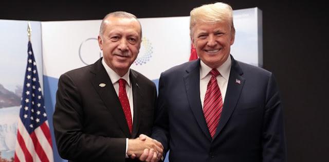 Erdogan Ingin Bertemu Trump Bahas Zona Aman Suriah
