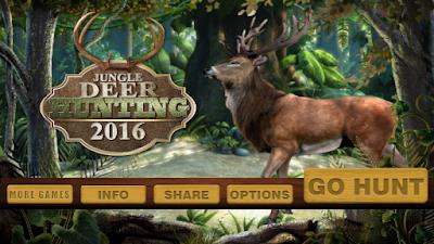 Download Jungle Deer Hunting 2016 Apk v1.1 (Mod Money) Terbaru