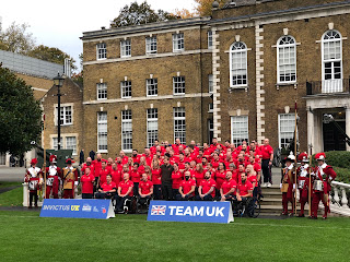 Harry attends launch of UK Invictus Games 2020 Team