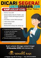 Lowongan Kerja Surabaya di Batik Benang Raja Terbaru Nopember 2019