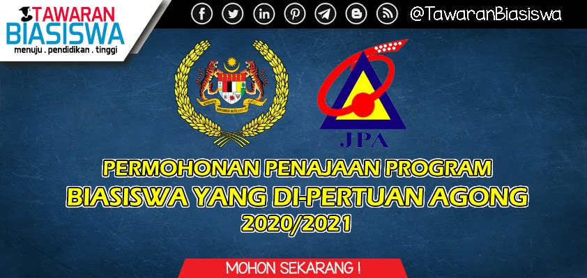Permohonan Biasiswa Yang Di Pertuan Agong Bydpa 2020 2021 Biasiswa Bantuan Pendidikan Scholarship Jpa Mara 2020 2021