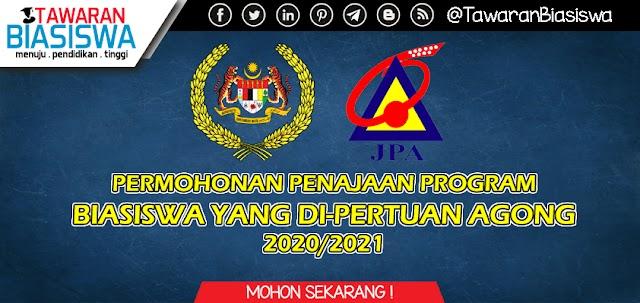 Permohonan Biasiswa Yang Di Pertuan Agong (BYDPA) 2020/2021