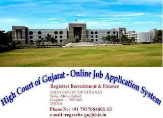 High Court of Gujarat Document Verification 2019 / Translator Shortlisted Candidates:
