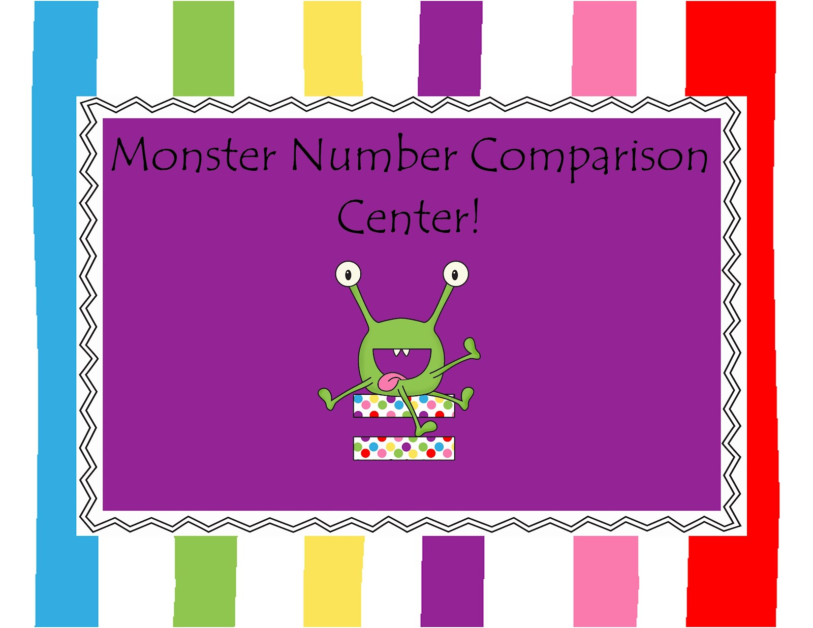 The Crazy Pre K Classroom Comparing Numbers