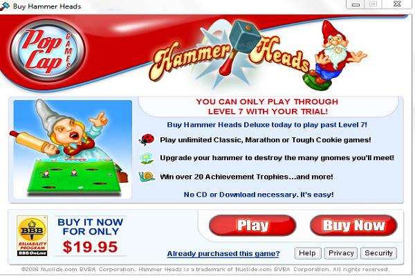تحميل لعبة الاراجوز Hammer Heads مجانا برابط مباشر