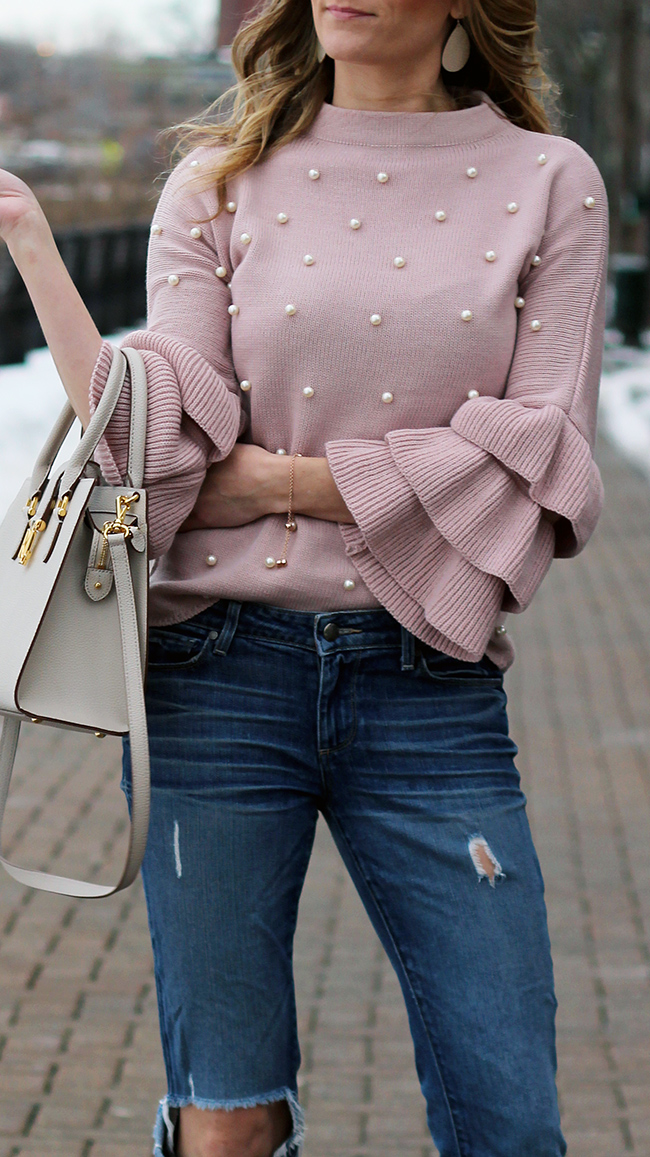 Tiered Sleeve Sweater #tieredsleeves #sweater