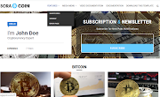 Sora-coin Blogger Theme Download - Responsive and Adds ready Blogger Template