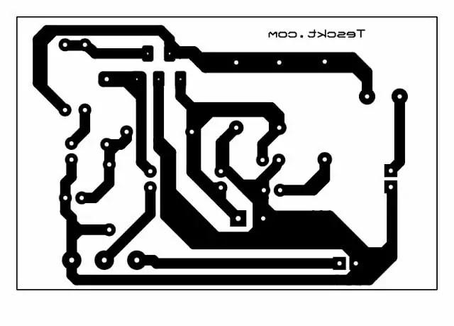 tda2030 amplifier circuit single supply pcb