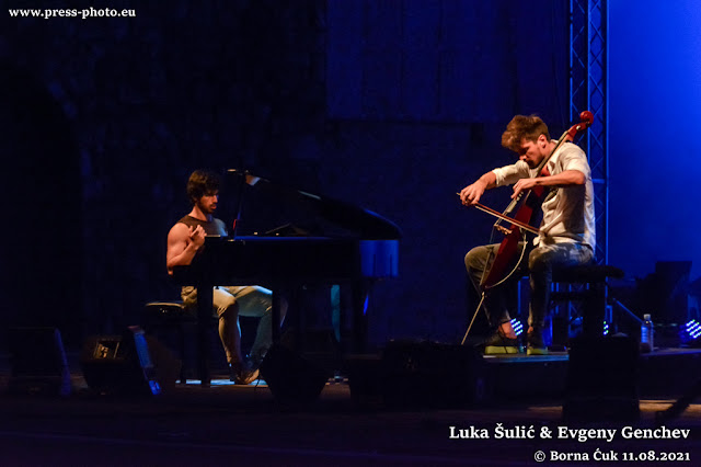 Luka Šulić i Evgenij Genčev u Opatiji održali fantastičan crossover koncert 11.07.2021