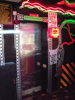 The Labyrinths of Doralia Laser Tag game