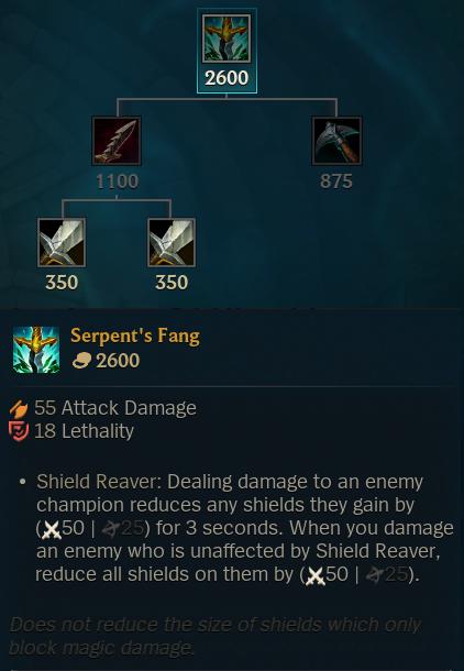 Serpent's Fang Buff