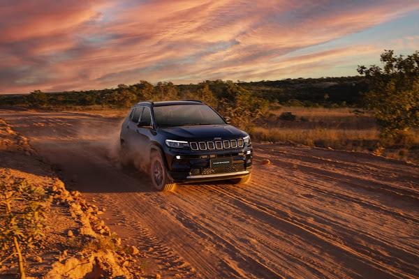Novo Jeep Compass 2022: fotos, preços e detalhes - Brasil