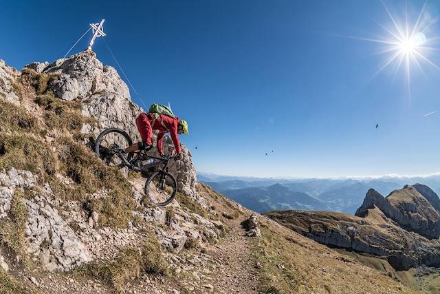 Rofanspitze Mountainbike