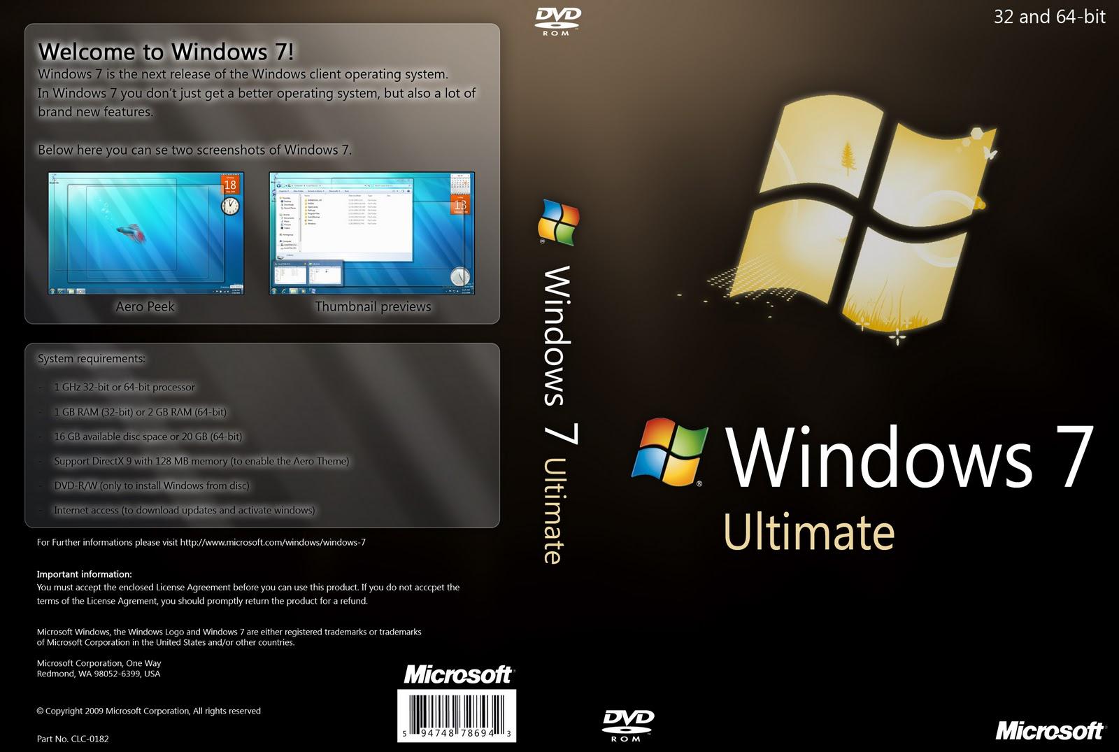 download windows 7 ultimate sp1 iso 32 64 bit