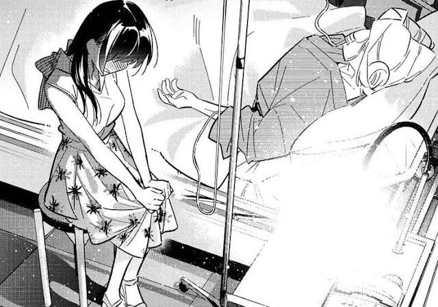 Spoiler Manga Kanojo, Okarishimasu Chapter 151 Bahasa Indonesia