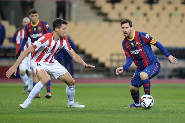 ملخص مشاهدة مباراة برشلونة وأتلتيك بلباو (2-3) في نهائي كأس السوبر الإسباني