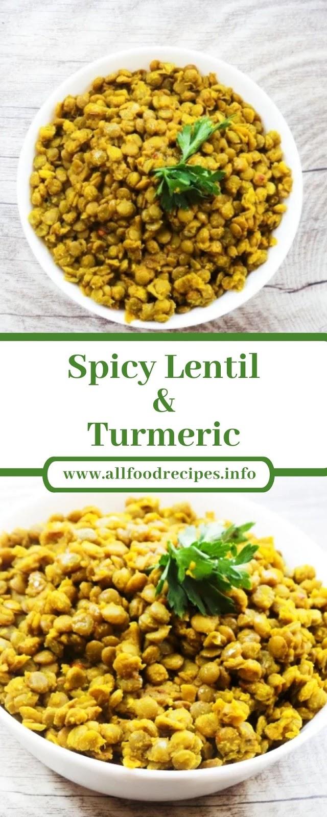 Spicy Lentil & Turmeric
