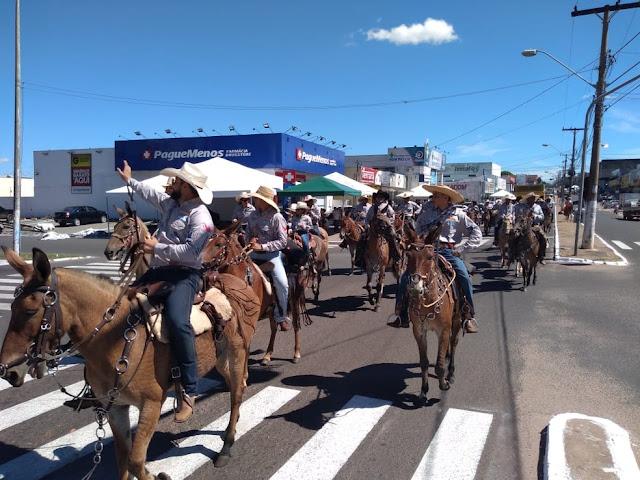 cavalgada em araguaína