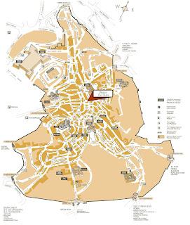 Mapa de Siena.