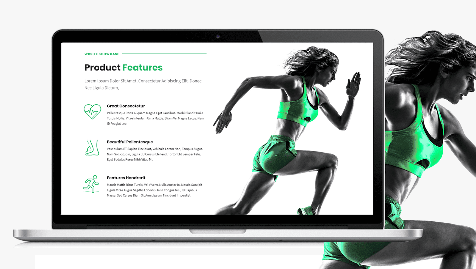 Health Website Features Page Design Inspiration