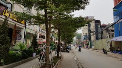 Mặt đường Triều Khúc Thanh Xuân
