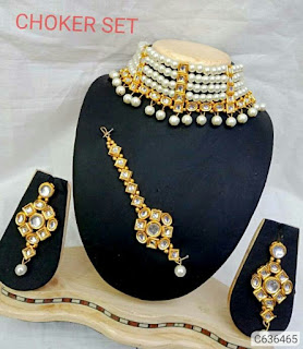 Exquisite Crystal Stone Choker Sets