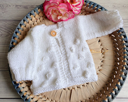 knitted baby clothes jumper sweater set