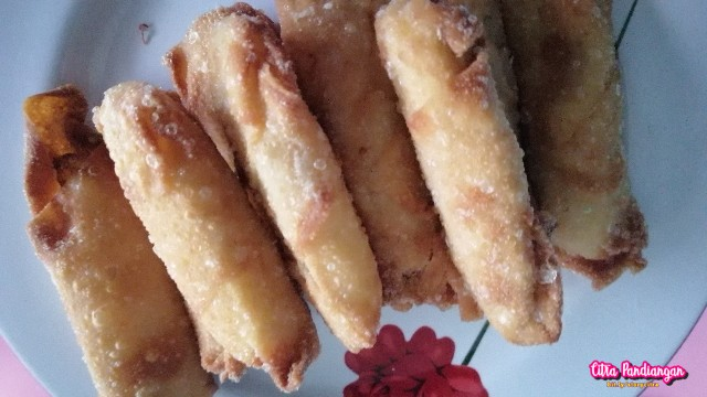 Simple Recipe Fried Banana