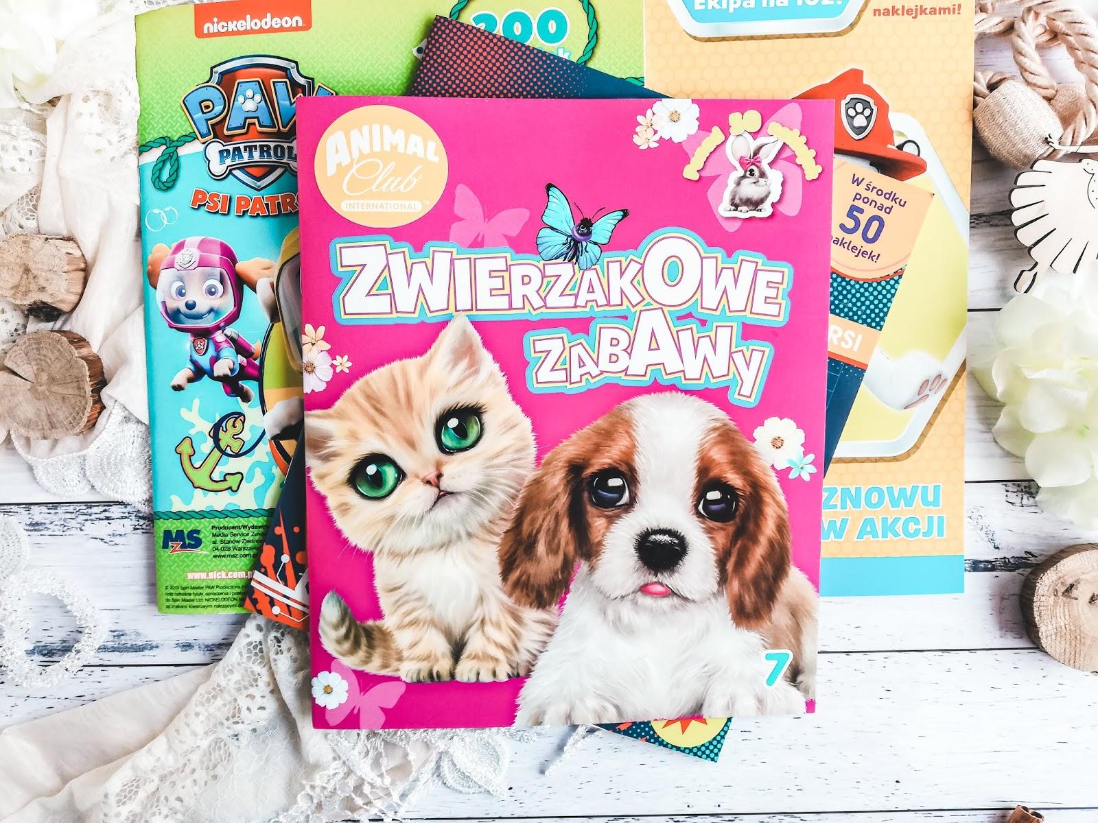 Książeczki dla dzieci z zadaniami