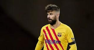 AS: Gerard Pique plans Barca return in action against Sevilla second leg