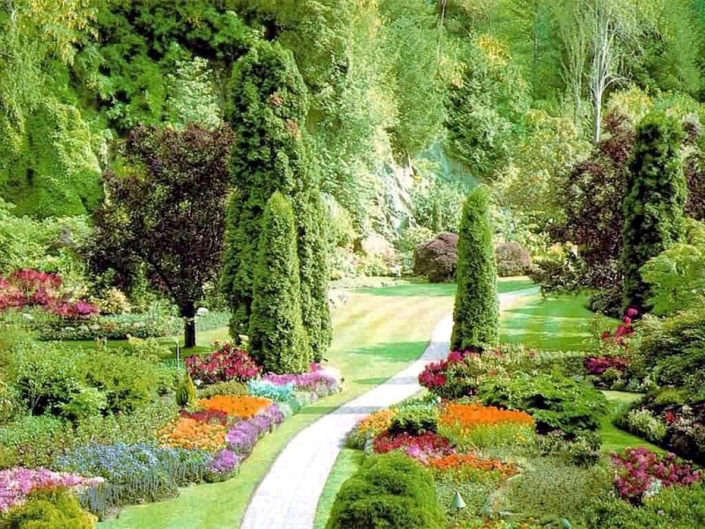 Large Garden The concept of a Beautiful Gardens from around the world 1