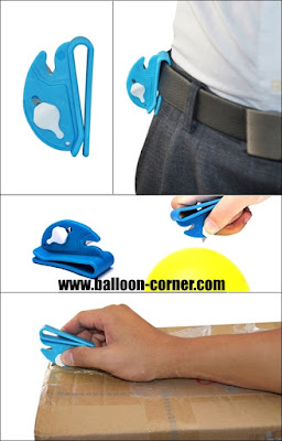Multifunction Clip On Balloon Cutter
