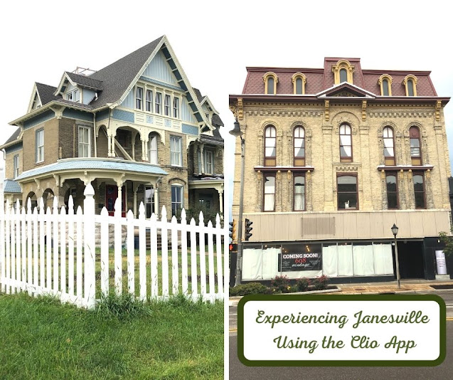 History Surrounds While Experiencing Janesville Using the Clio App