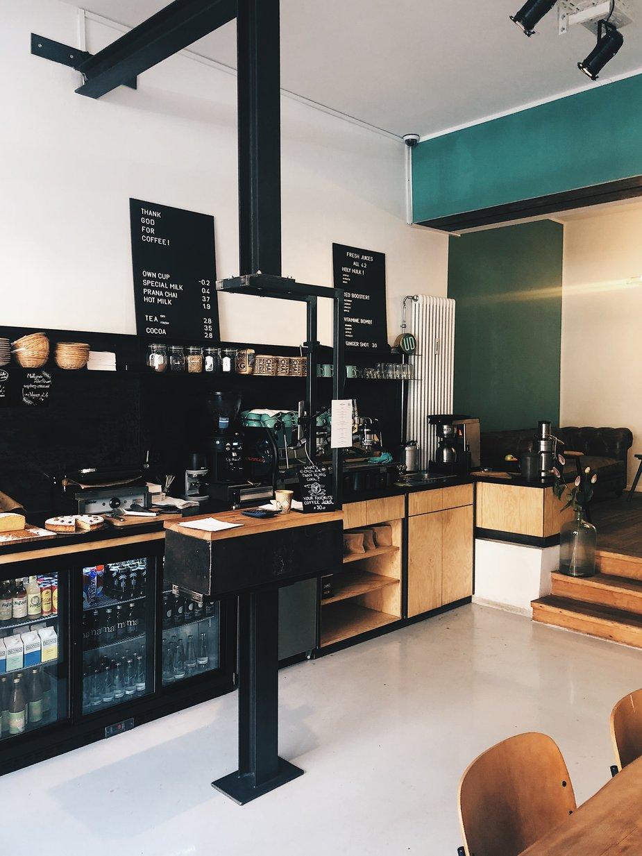 Desain kafe kekinian