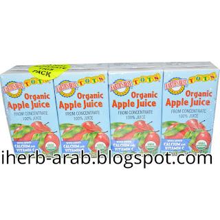 عصير تفاح للاطفال