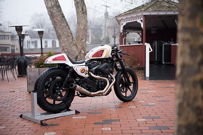 Harley cafe - roland sands design exhaust