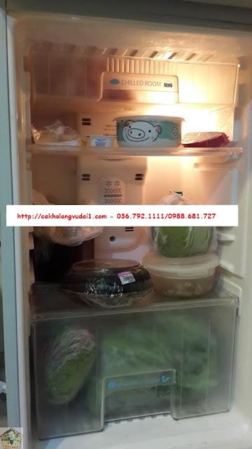 bảo quản cá kho làng vũ đại trong tủ lạnh