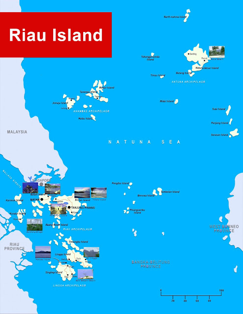 image: Riau Island Map
