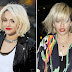 Pony trend: Rita Ora new haircut with bangs