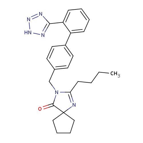 Struktur Kimia Irbesartan
