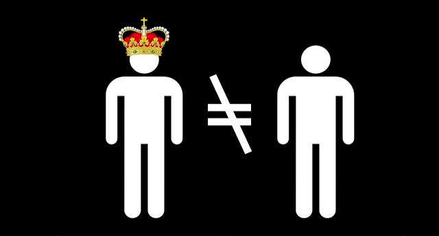 ¿Por qué injuriar al rey es diferente que injuriar a un ciudadano?