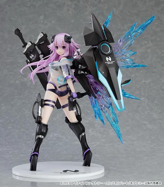 Hyperdimension Neptunia 1/7 Scale Figure Dimension Traveler Neptune: Generator Unit Ver.