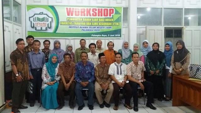 Workshop Pengembangan Bahan Ajar Bagi Dosen MPI