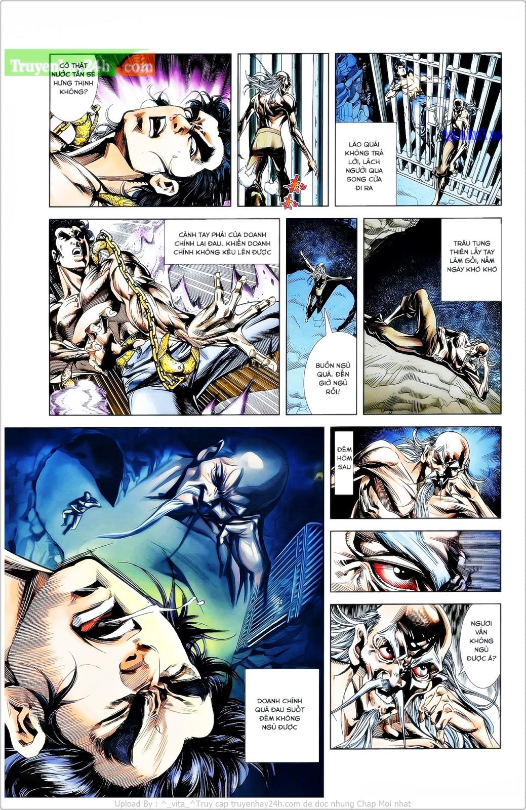 Tần Vương Doanh Chính chapter 25 trang 8