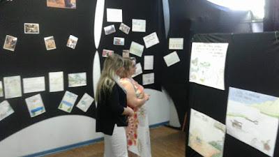 """Escola da Família da Escola Yolanda realiza Exposição """"Caminhar com Arte – Sustentabilidade"""""""