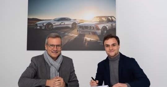 Fährt Lucas Auer 2020 DTM für BMW ?