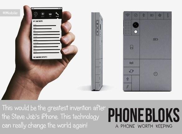 Phonebloks Upgradable Modular Smartphone