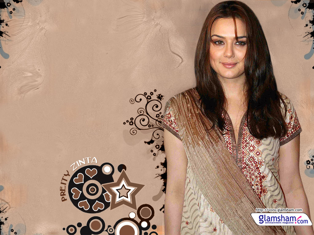 Priti Zinta Hot Wallpaper-3888