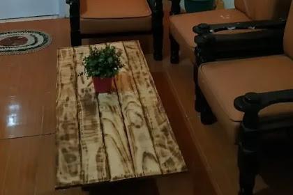 Cara Membuat Meja dari Kayu Bekas